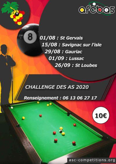 challenge des as 2020